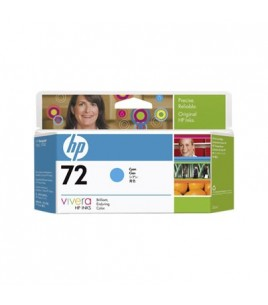 HP 72 Cyan Ink Cartridge (130 ml) (C9371A  )