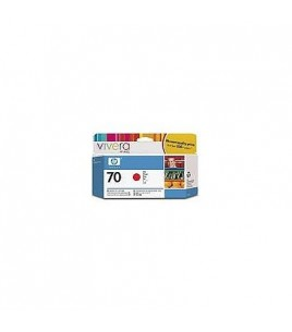 HP 70 130 ml Red Ink Cartridge with Vivera Ink (C9456A)