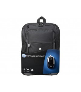 HP Essentials Kit 16-inch Backpack and mouse (E5L03AA)