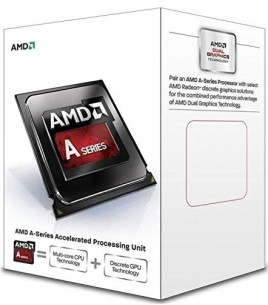 AMD APU A4-7300, 3.8/4.0GHz, Socket FM2, Dual Core, 1MB Cache, GPU Radeon HD 8470D, Box (AD7300OKHLBOX)