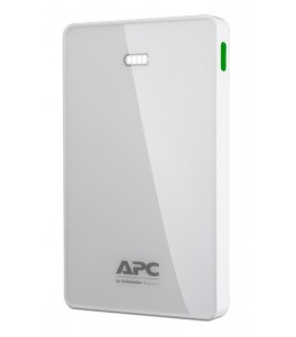 APC Mobile Power Pack, 10000mAh Li-polymer, White (M10WH-EC)