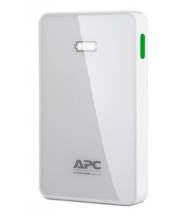 APC Mobile Power Pack, 5000mAh Li-polymer, White (M5WH-EC)