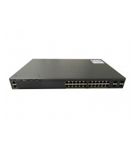 Cisco Catalyst 2960-X 24-port Stackable Enterprise Gigabit switch, 4xSFP (WS-C2960X-24TS-L)