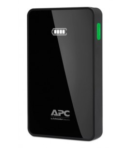 APC Mobile Power Pack, 5000mAh Li-polymer, Black (M5BK-EC)