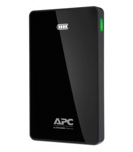 APC Mobile Power Pack, 10000mAh Li-polymer, Black (M10BK-EC)