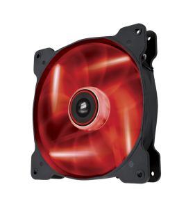 Corsair Air Series AF140 LED Red Quiet Edition High Airflow 140mm Fan (CO-9050017-RLED)