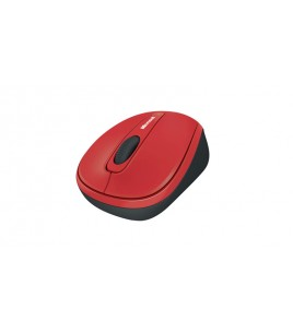Microsoft Wireless Mobile Mouse 3500, BlueTrack, Red Gloss (GMF-00293)