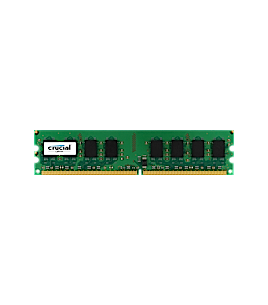 Crucial 1GB DDR2 PC2-6400 800MHZ (CT12864AA800)