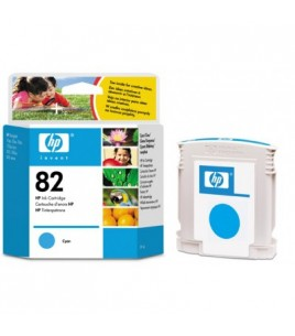 HP 82 Cyan Ink Cartridge (C4911A  )