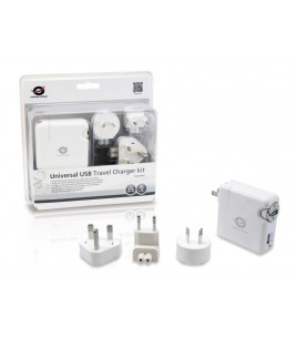 Conceptronic Universal USB Travel Charger kit