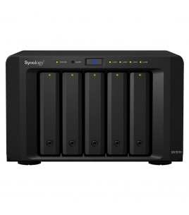 Synology DS1515+, 5-bay NAS server, 4xUSB3.0, 4xGLAN
