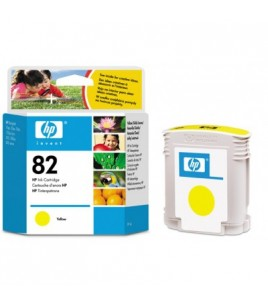 HP 82 Yellow Ink Cartridge (C4913A )