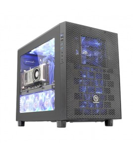 Thermaltake Core X2 mATX Cube Case, Black (CA-1D7-00C1WN-00)