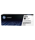 HP 83X High Yield Black LaserJet Toner Cartridge (CF283X)