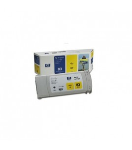 HP 83 UV Yellow Ink Cartridge (C4943A)