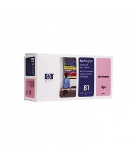 HP 81 Light Magenta Dye PH and Cleaner (C4955A)