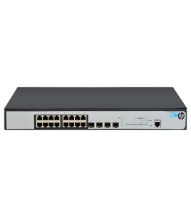 Switch HP 1920-16G, 16-port gigabit advanced smart managed switch with 4 GbE SFP ports (JG923A)