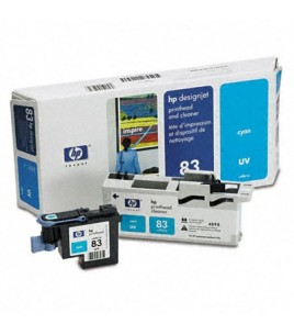 HP 83 UV Cyan Printhead and Cleaner (C4961A)