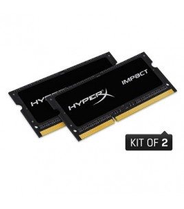 Kingston HyperX Impact Black Series 16GB (2x8GB) 1866MHz DDR3L CL11 SODIMM (HX318LS11IBK2/16)