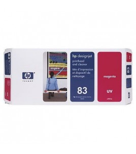 HP 83 UV Magenta PH and Cleaner (C4962A)