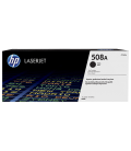 HP 508A Black LaserJet Toner Cartridge, 6K (CF360A)