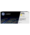 HP 508X High Yield Yellow LaserJet Toner Cartridge 9.5K (CF362X)