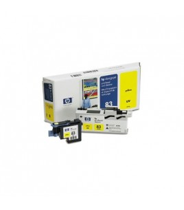 HP 83 UV Yellow PH and Cleaner (C4963A)