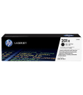 HP 201X High Yield Black LaserJet Toner Cartridge 2.8K (CF400X)