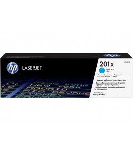 HP 201X High Yield Cyan LaserJet Toner Cartridge 2.3K (CF401X)