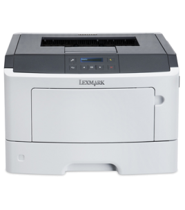 Lexmark MS312dn Mono Laser Printer, A4, 1200x1200, 33ppm, USB, Ethernet, Parallel (35S0080)
