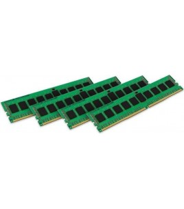 Kingston ValueRAM 16GB (4x4GB) DDR4 2133MHz CL15 ECC Registered SR (KVR21R15S8K4/16)