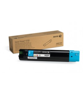 Xerox High Capacity Laser Toner, 12K, Cyan for Phaser 6700 (106R01507)