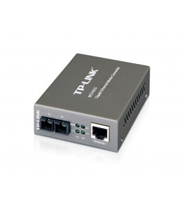 TP-Link Gigabit Single-Mode Media Converter (MC210CS)