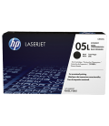 HP 05L Economy Black LaserJet Toner Cartridge (CE505L)