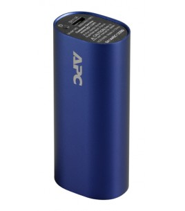 APC Mobile Power Pack, 3000mAh Li-ion cylinder, Blue (M3BL-EC)