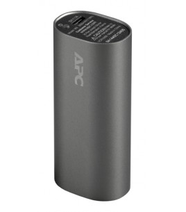 APC Mobile Power Pack, 3000mAh Li-ion cylinder, Titanium (M3TM-EC)