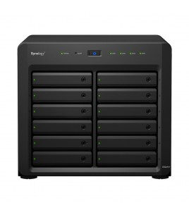 Synology DiskStation DS2415+, expandable 12-bay NAS server, 4xUSB3.0, 4xGLAN