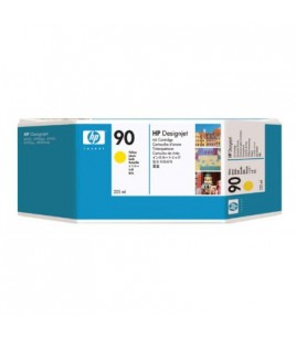 HP 90 Yellow Ink Cartridge (225 ml) (C5064A)