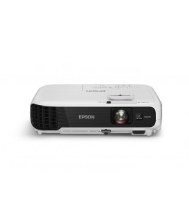 Epson EB-S04 Corporate Portable Multimedia Projector, 3LCD, 800x600, 4:3, 3000 Lumen, VGA, HDMI, USB (V11H716040)