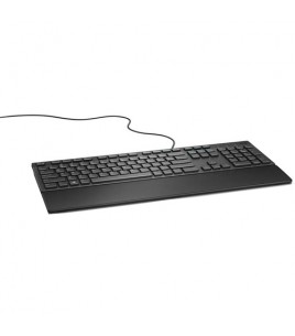 Dell KB216 Multimedia USB Keyboard, Greek, Black (580-ADHV)