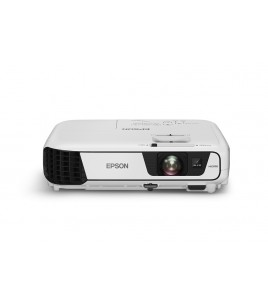 Epson EB-X31 Corporate Portable Multimedia Projector, 3LCD, 1024x768, 4:3, 3200 Lumen, VGA, HDMI, USB (V11H720040)