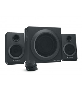 Logitech Z333 Multimedia Speaker 2.1, Black (980-001202)