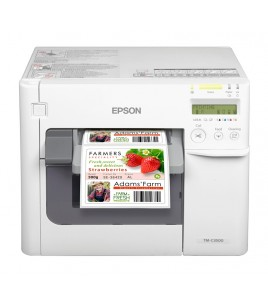 Epson TM-C3500 Color Label Printer, 720x360 dpi, 104 mm, USB, Ethernet (C31CD54012CD)