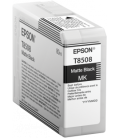 Epson T8508 Ink Cartridge, Matte Black (C13T850800)