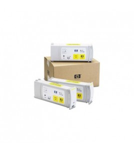 HP 83 UV 3-Ink Multipack, Yellow (C5075A)