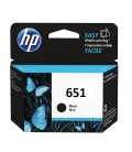 HP 651 Ink Advantage Cartridge, Black (C2P10AE)