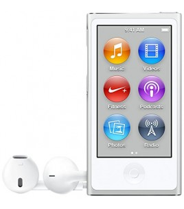 Apple iPod Nano 16GB, Silver (MKN22QB/A)