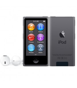 Apple iPod Nano 16GB, Space Gray (MKN52QB/A)