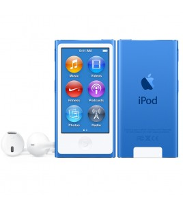 Apple iPod Nano 16GB, Blue (MKN02QB/A)