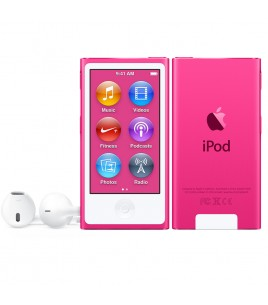 Apple iPod Nano 16GB, Pink (MKMV2QB/A)